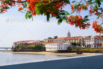 Panama City View Old Casco Viejo Antiguo