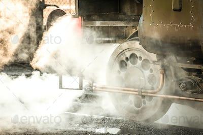cloud of steam