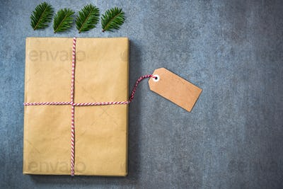 Packing Christmas gift for book worm person