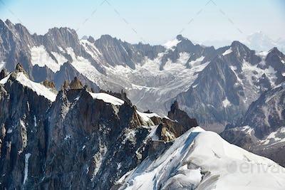 Chamonix Mont Blanc Massif, French Alps