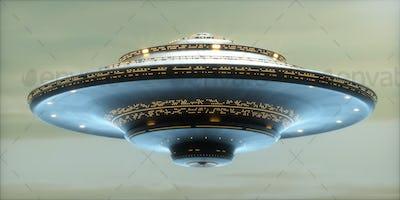 UFO Alien Spaceship