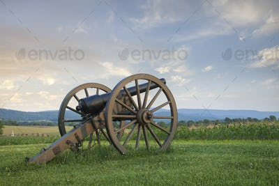 Civil War Cannon at Antietam National Battlefield