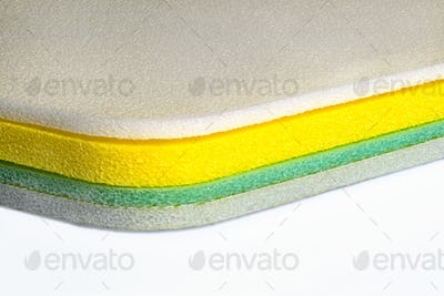 Foam, Polyethylene Multi Color Material Shockproof Closed Up