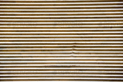 Abstract old striped metal background