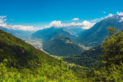Martigny and Sembrancher