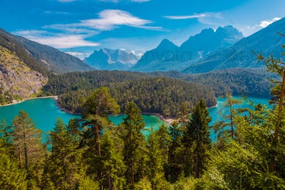 Blindsee Mountain Lake