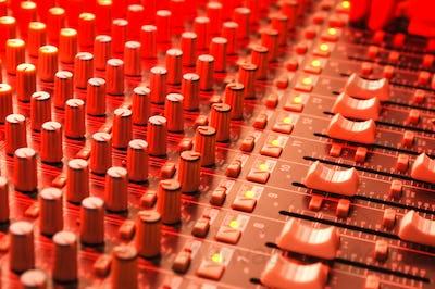 soundboard faders