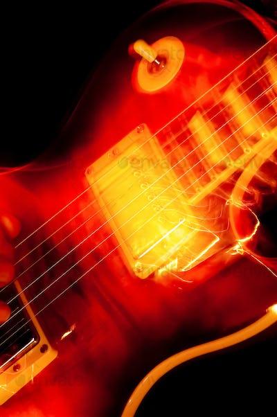 electric guitar blur