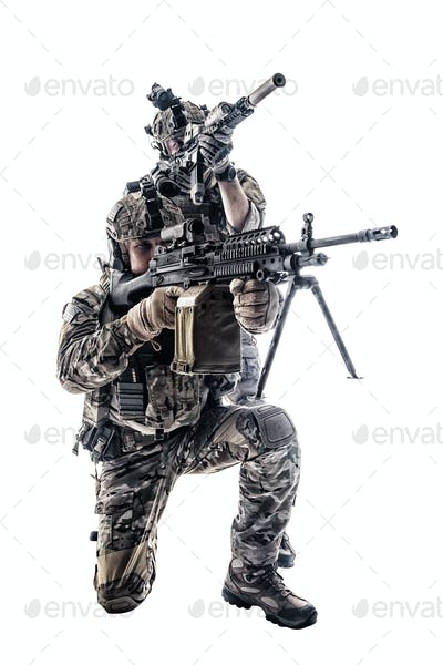 Army Rangers in field Uniforms