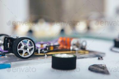 Parts of slot car