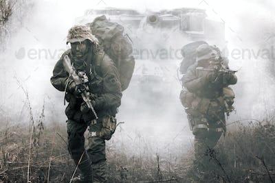 Jagdkommando soldiers Austrian special forces
