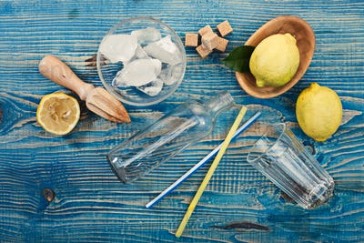 Lemonade preparation,
