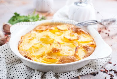 gratin from potato