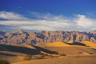Sand dunes near Death Valley, California, USA