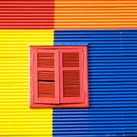 Colorful house in La Boca, Buenos Aires