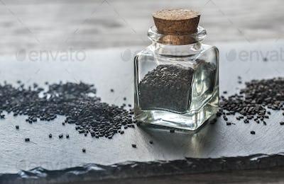 Sesame in the vial