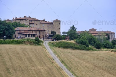 Castle in Val Tidone (Piacenza, Italy)