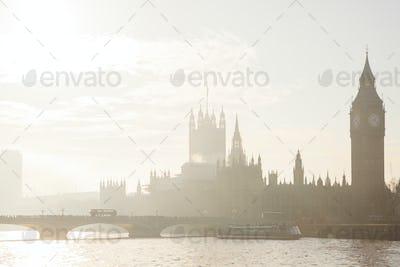 Big Ben from Thames River