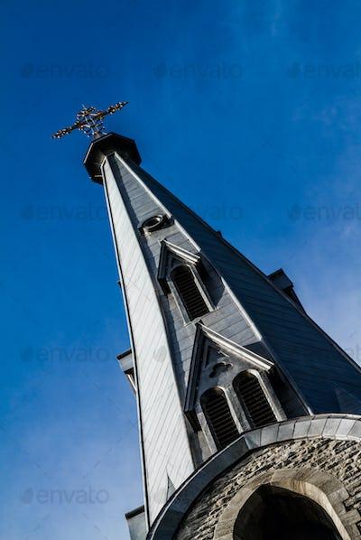 Church Steeple and Sky