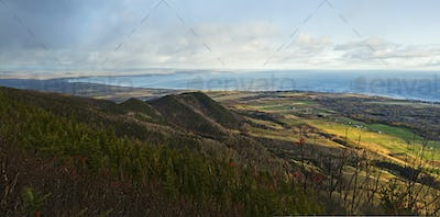 Top mountain Panorama - Gaspe Peninsula