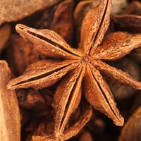 Extreme Closeup Texture of Hot Wine Spices