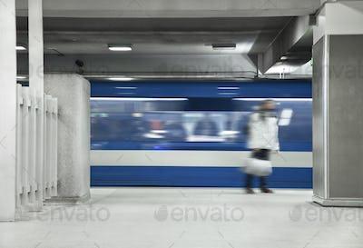 Men Waiting the metro