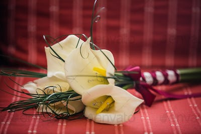 Wedding Lily Flowers Bouquet