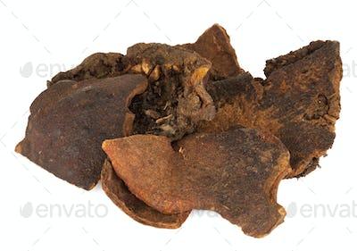 Shi Liu Pi or botanical name Punica Granatum. Is also known as dried pomegranate