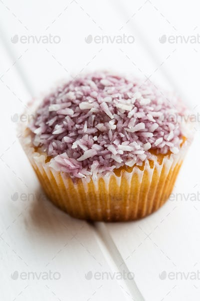 Tasty sweet cupcake.
