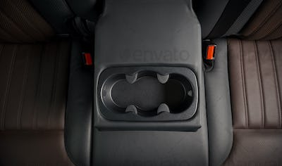 Cup holder car interior