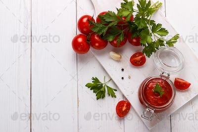 Traditional Italian tomato sauce