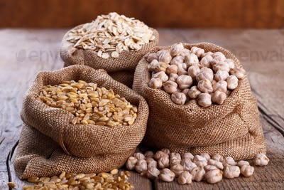 Cereals for a healthy diet,