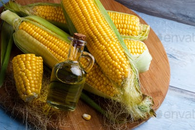 Fresh corn oil