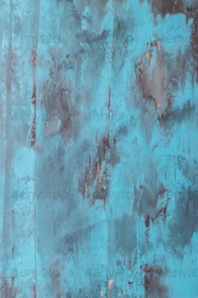 light blue concrete wall background for design