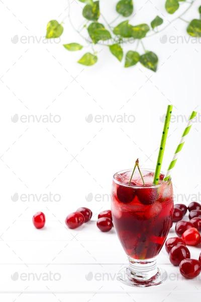 Fresh cherry juice