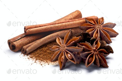 Cinnamon with Star anise, paths