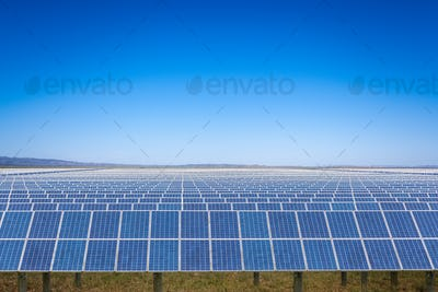 solar energy on prairie