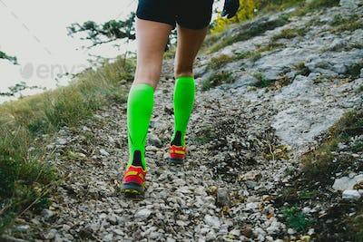 Slender legs girl