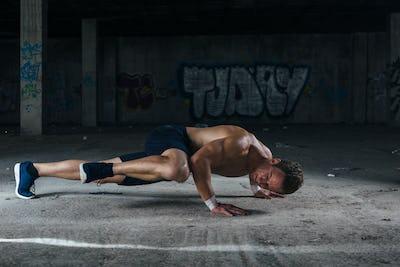 Hardworking sportsman