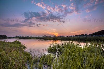 River forelands near Wageningen