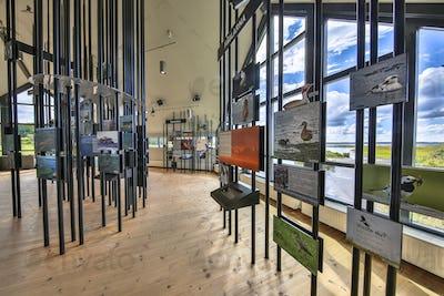 Exhibition Hornborgasjon visitor centre
