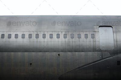 Detail of old aircraft