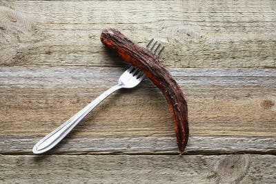 Fork with Rotten Carrot