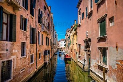 Venice a bright Sunny day