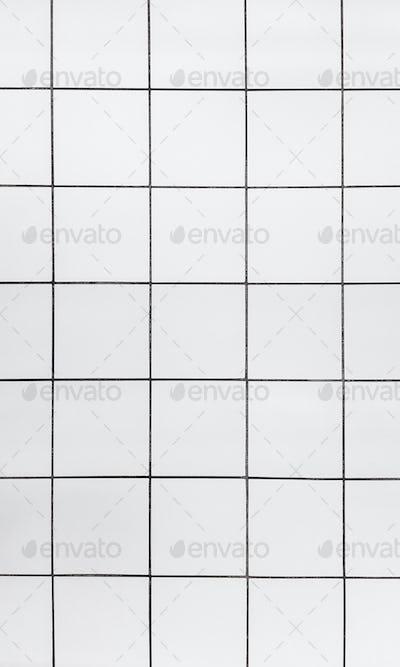 Tiles, white marble floor, background.