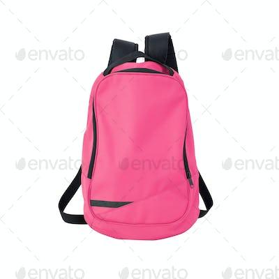 School bag pink