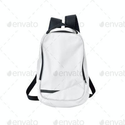School bag white