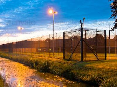 European Prison Fence
