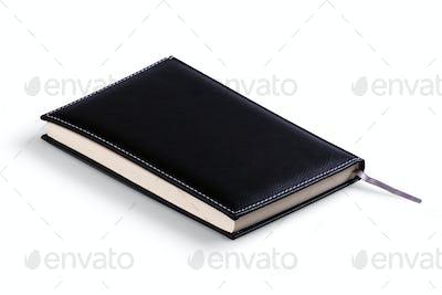 Black Leather Agenda Isolated