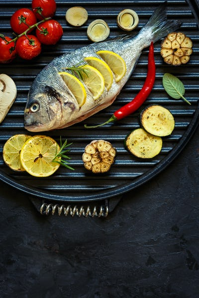 Tasty healthy fish.